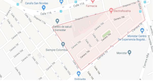 Mapa barrio